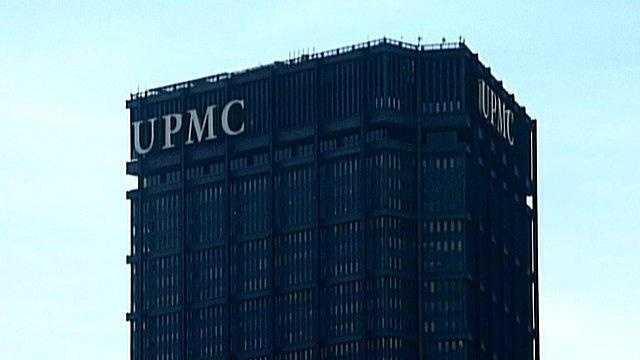 UPMC sign on U.S. Steel Tower