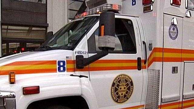A Pittsburgh ambulance