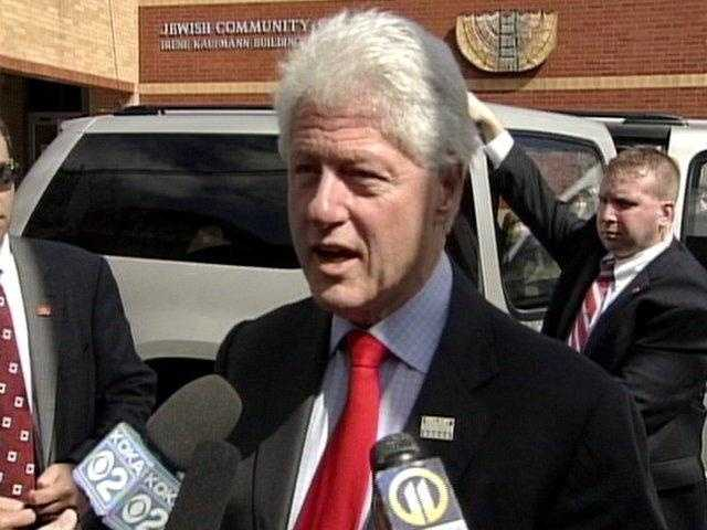 Bill Clinton was a governor from Arkansas who would soon be elected to the White House.