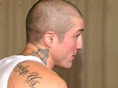 Spadafora looked bigger and had new tattoos in this November 2007 interview with WTAE's Marcie Cipriani.