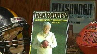"Dan Rooney's book, ""My 75 Years with the Pittsburgh Steelers and the NFL"""