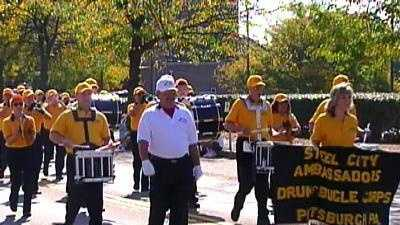 "Columbus Day parade in Bloomfield, a.k.a. Pittsburgh's ""Little Italy"""