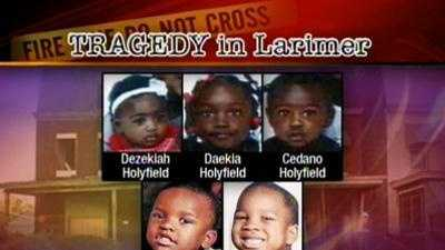 The victims are two sets of siblings -- Dezekiah, Cedano and Daekia&#x3B; and Andre and Azquel.