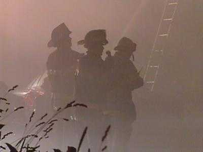 Firefighters entered on the second floor and found two children dead, then discovered three more elsewhere on the same floor.