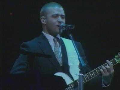 Justin Timberlake performed at Mellon Arena on March 19, 2007.
