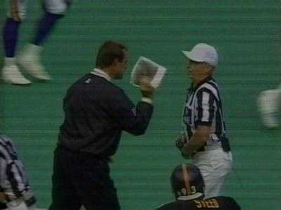 Years ago, the NFL didn't use instant replay to review calls during games ...