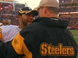 Running back Jerome Bettis, a future Hall of Famer, was synonymous with the Cowher era in Pittsburgh.