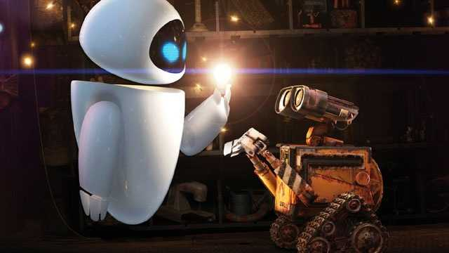 romantic movies - Wall-E