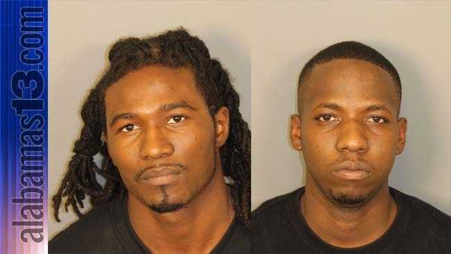 Marcus Jemison, 24, and Gregory Miller, 23