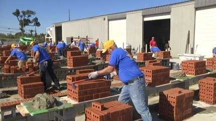 Alabama regional bricklayer competition