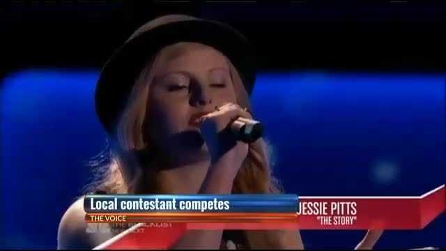 Spain Park graduate Jessie Pitts to sing live tonight on NBC's The Voice
