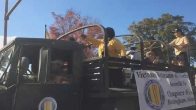 Birmingham Veterans Day parade celebrates its 60th yearBirmingham Veterans Day parade celebrates its 60th year