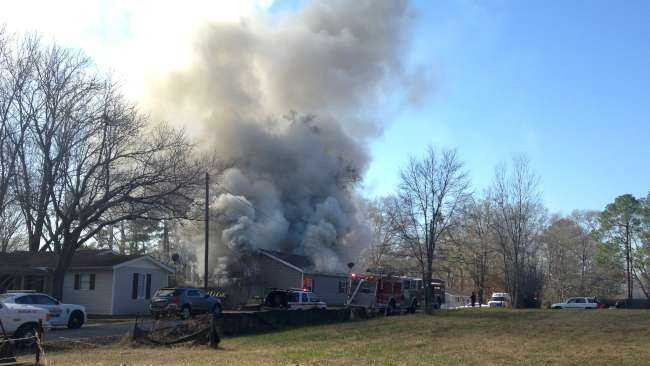 Columbiana house fire