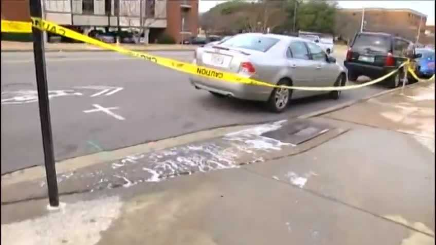 The warmer temperatures this morning could be to blame for a water main break on the campus of UAB.