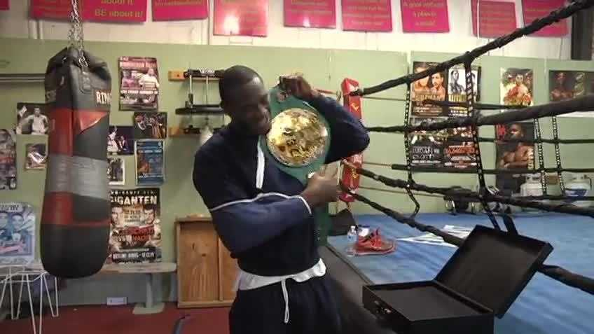 "Wilder told WVTM 13 shortly after winning the WBC heavyweight title belt that he'd named it ""Sophia."""
