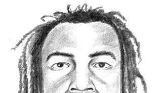 Artist's rendering of December 2014 armed robbery suspect