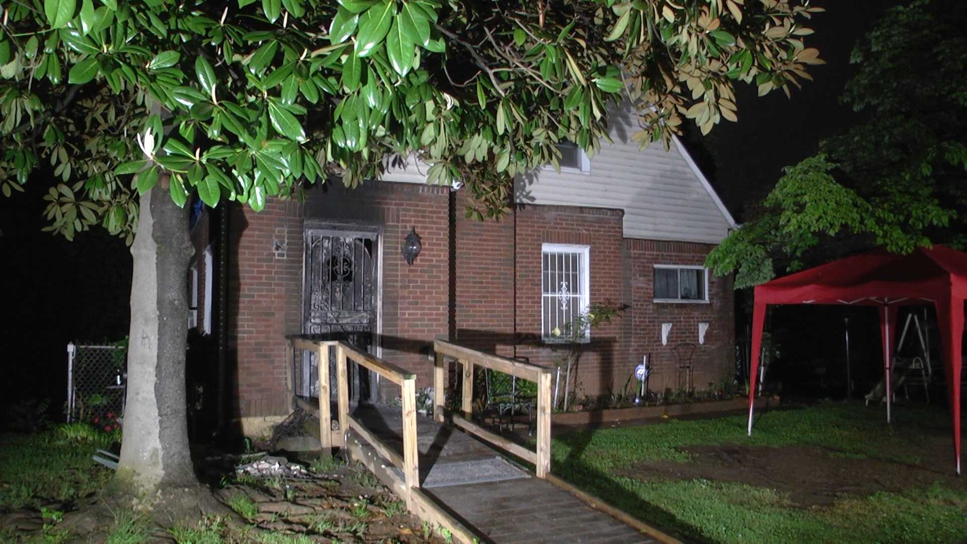 The fire started around 1:15 a.m. Wednesday in the 3300 block of Avenue Q in Ensley.