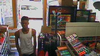 Suspect in Shell gas station robbery on Valley Avenue in Birmingham.