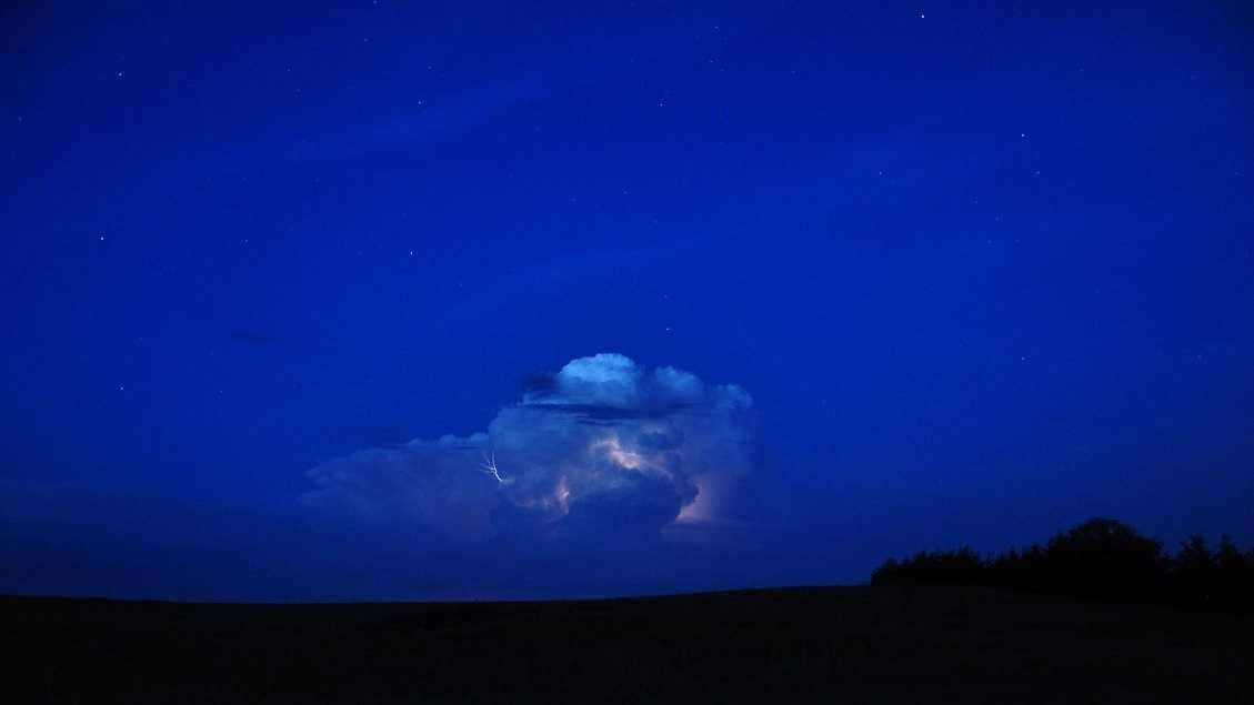 NOAA scientists will study nighttime thunderstorms this summer to better understand and predict them. (Credit: NOAA)