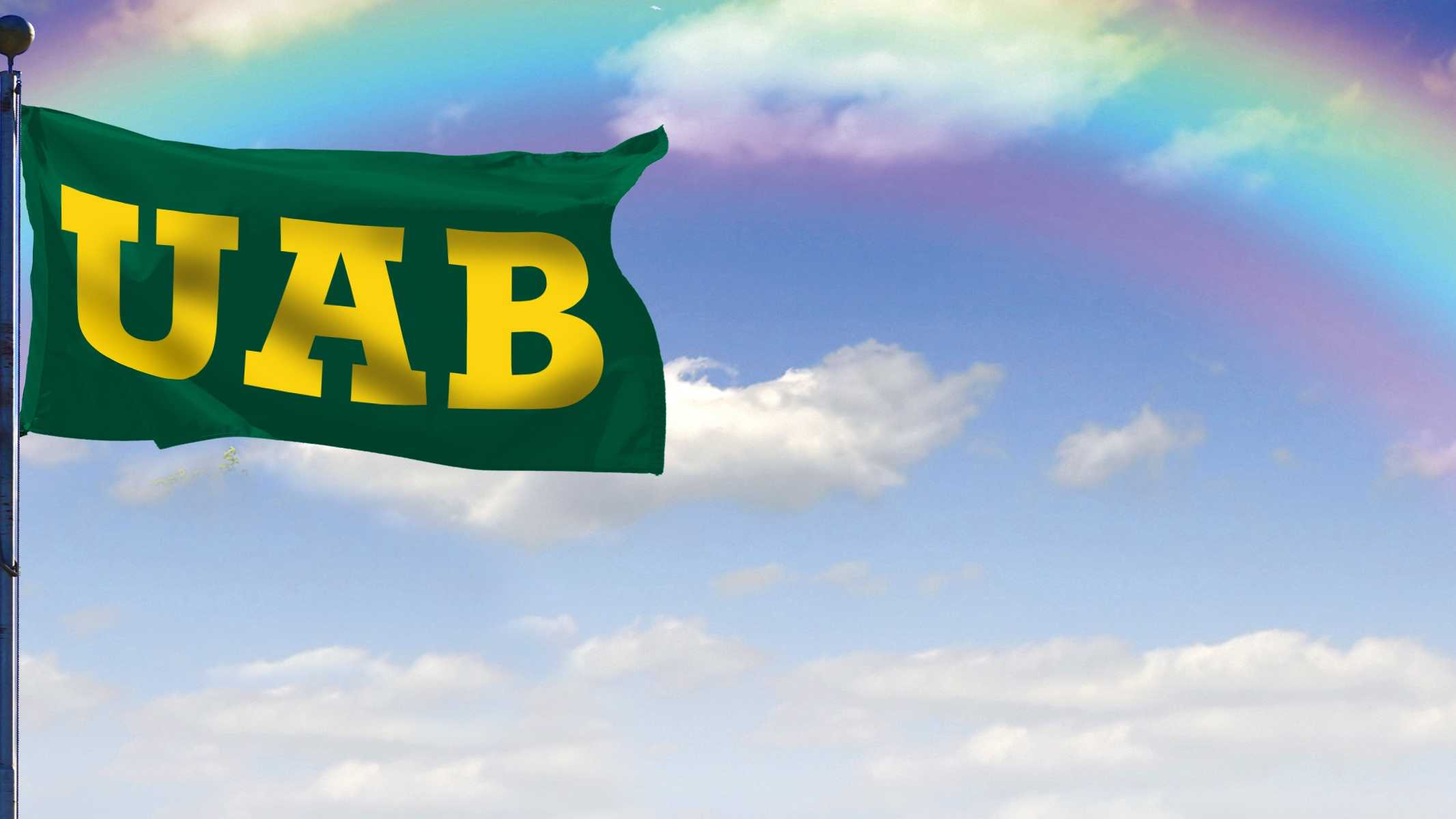 Electronic billboard posting after UAB football was reinstated