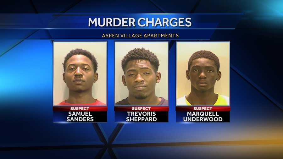 3 men charged with Aspen Village murder