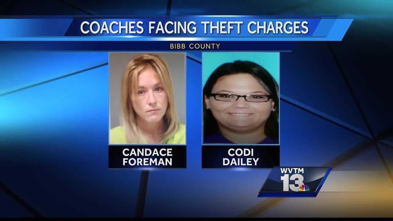 Two Bibb County women face theft charges. Sheriff's officials say they stole thousands of dollars from a youth cheerleading squad. Now the team doesn't have uniforms.