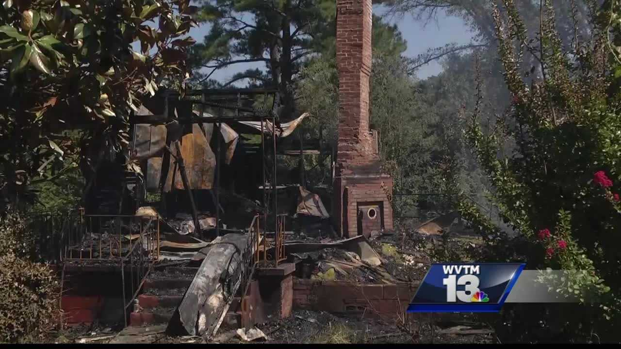 Investigators believe someone intentionally set a house fire in the Edgewater community.