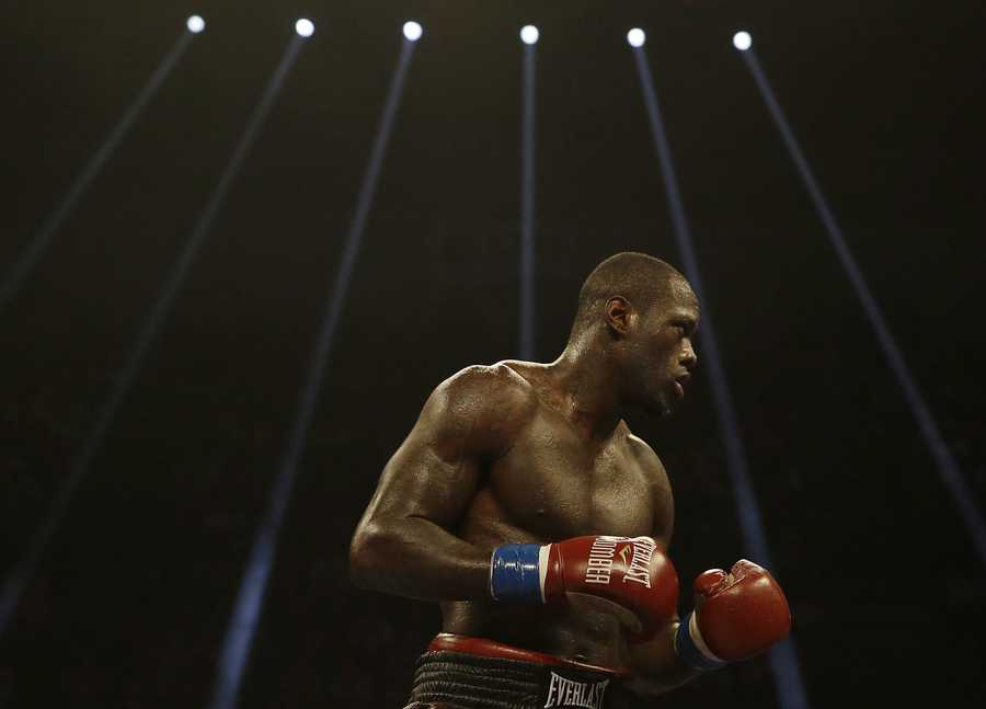 Deontay Wilder has never lost in the ring. His professional record is 34-0, 33 of which were knockouts.