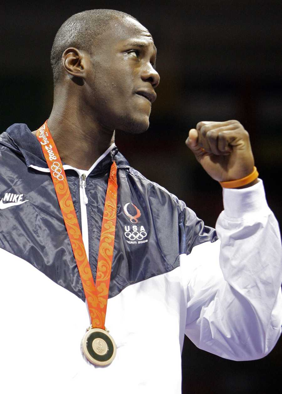 "Deontay Wilder's nickname ""the Bronze Bomber,"" came after he won the bronze medal in the 2008 Summer Olympic Games in Beijing. He was the only American fighter to win a medal at the games"