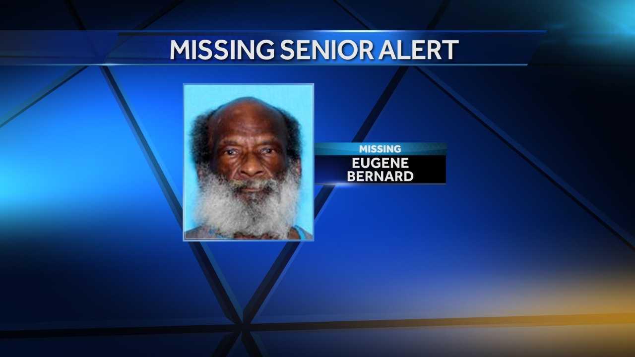 Eugene Bernard was last seen Oct. 1 in Prattville