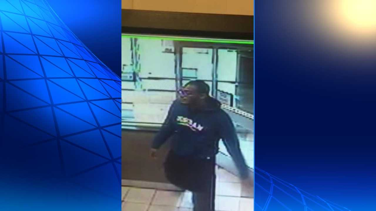 Jefferson County authorities are searching for this man as a person of interest in a shooting that took place around noon at a Center Point McDonald's location.