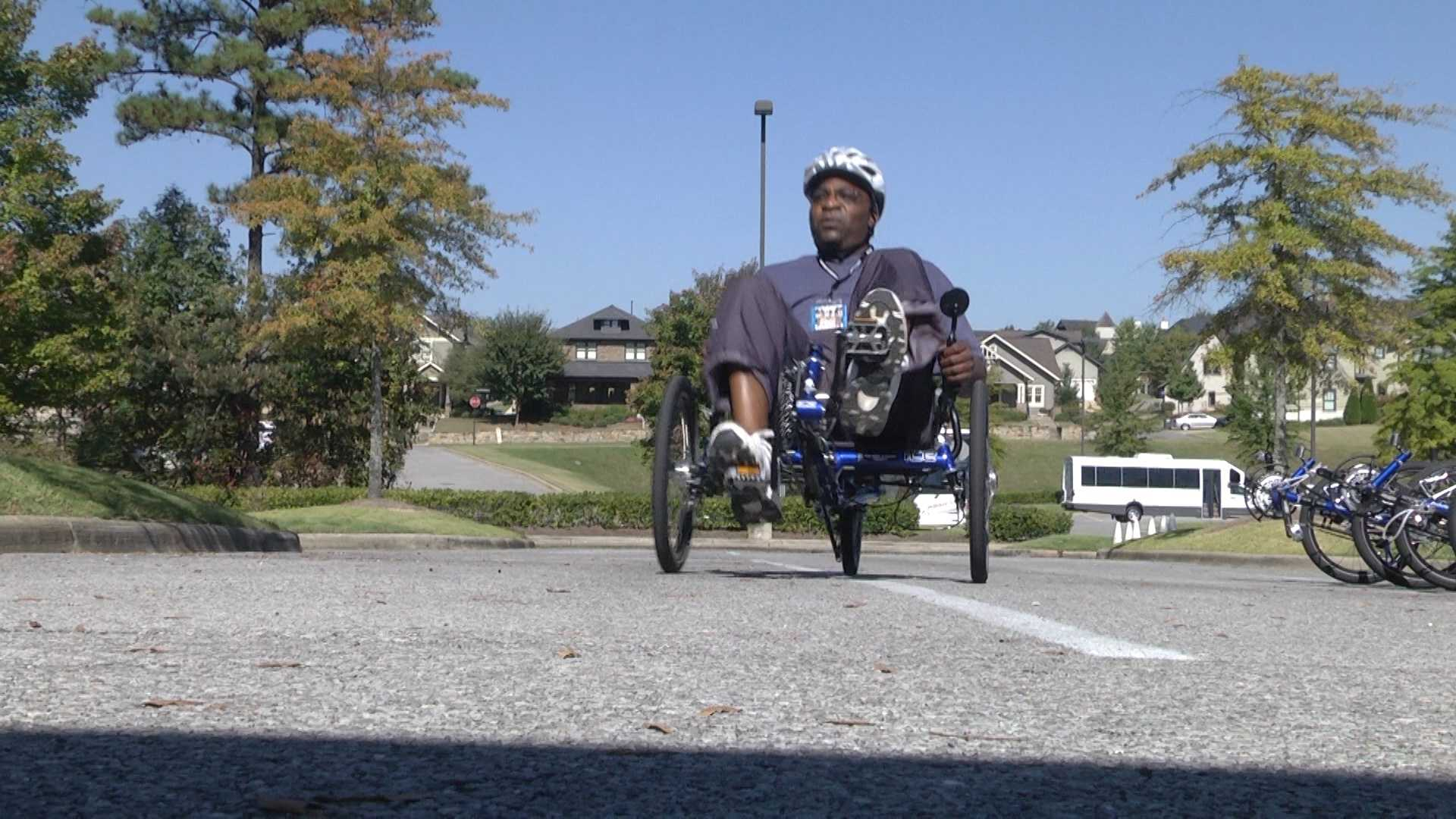 The Wounded Warrior Project will be in Birmingham this weekend for a bicycle ride with soldiers in the area.