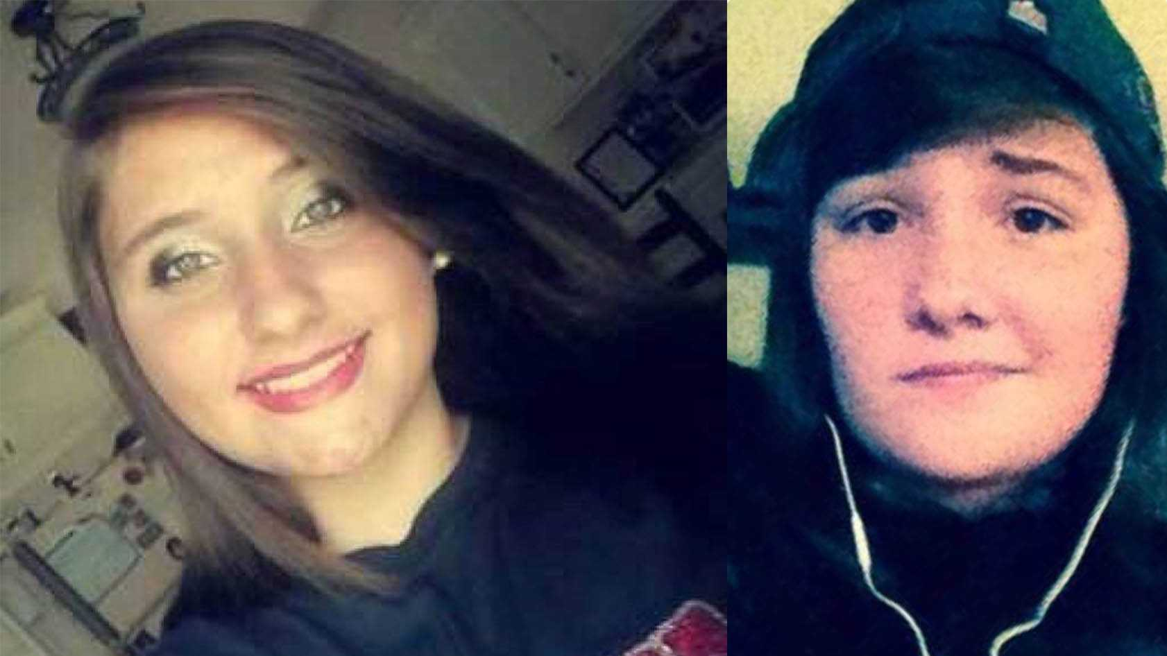 The Etowah County Sheriff's Office and Crossville police are searching for two missing teens. Brooke Anette Richerzhagen, 15, of Attalla, and Stephanie Michelle Siemens, 16, of Crossville, were last seen Wednesday evening in Gallant.