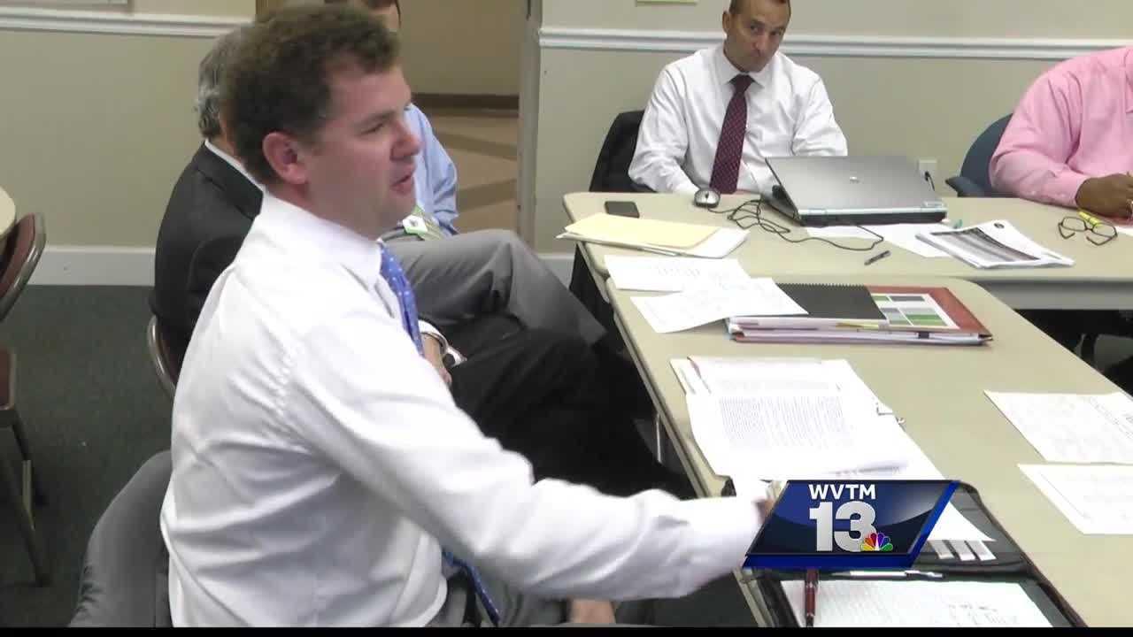 Tuscaloosa City Schools board members held an intense meeting Friday morning.