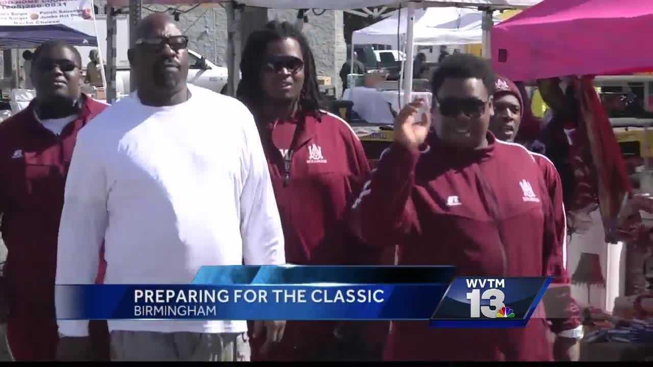 Birmingham, Magic City Classic, football, tailgating, parking, sports