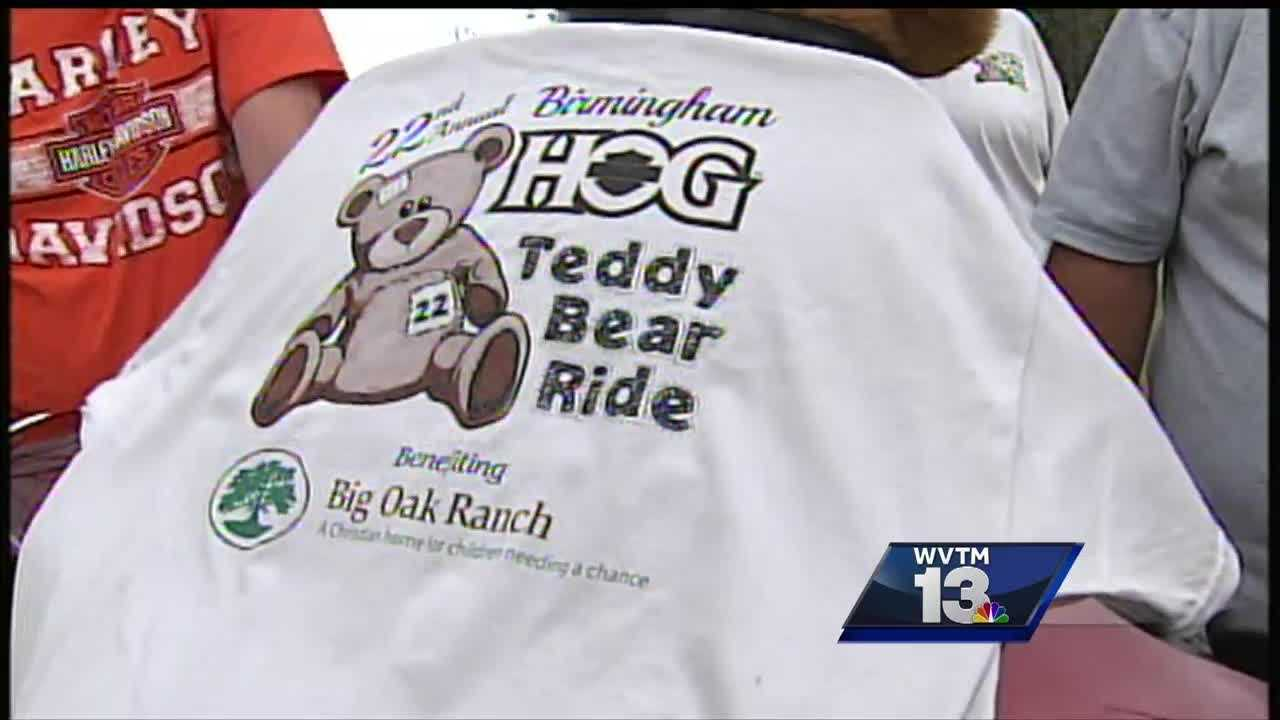 Birmingham HOGS to deliver hundreds of toys to children in need at Big Oak Ranch.