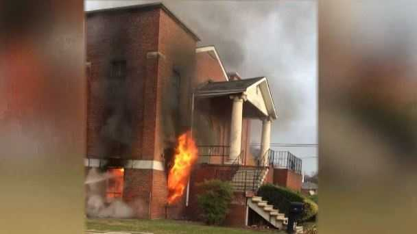 The pastor of Greater St. Paul CME Church said he doesn't plan to press charges after a fire damaged the Bessemer church Sunday morning.