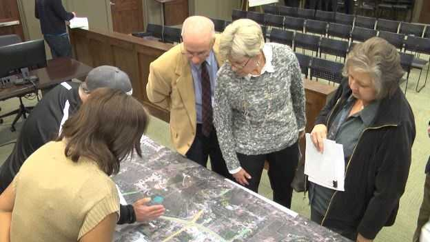 The Department of Transportation unveiled their plans to the public to widen the Highway 119, one of the most traveled roads in the state, Thursday night.