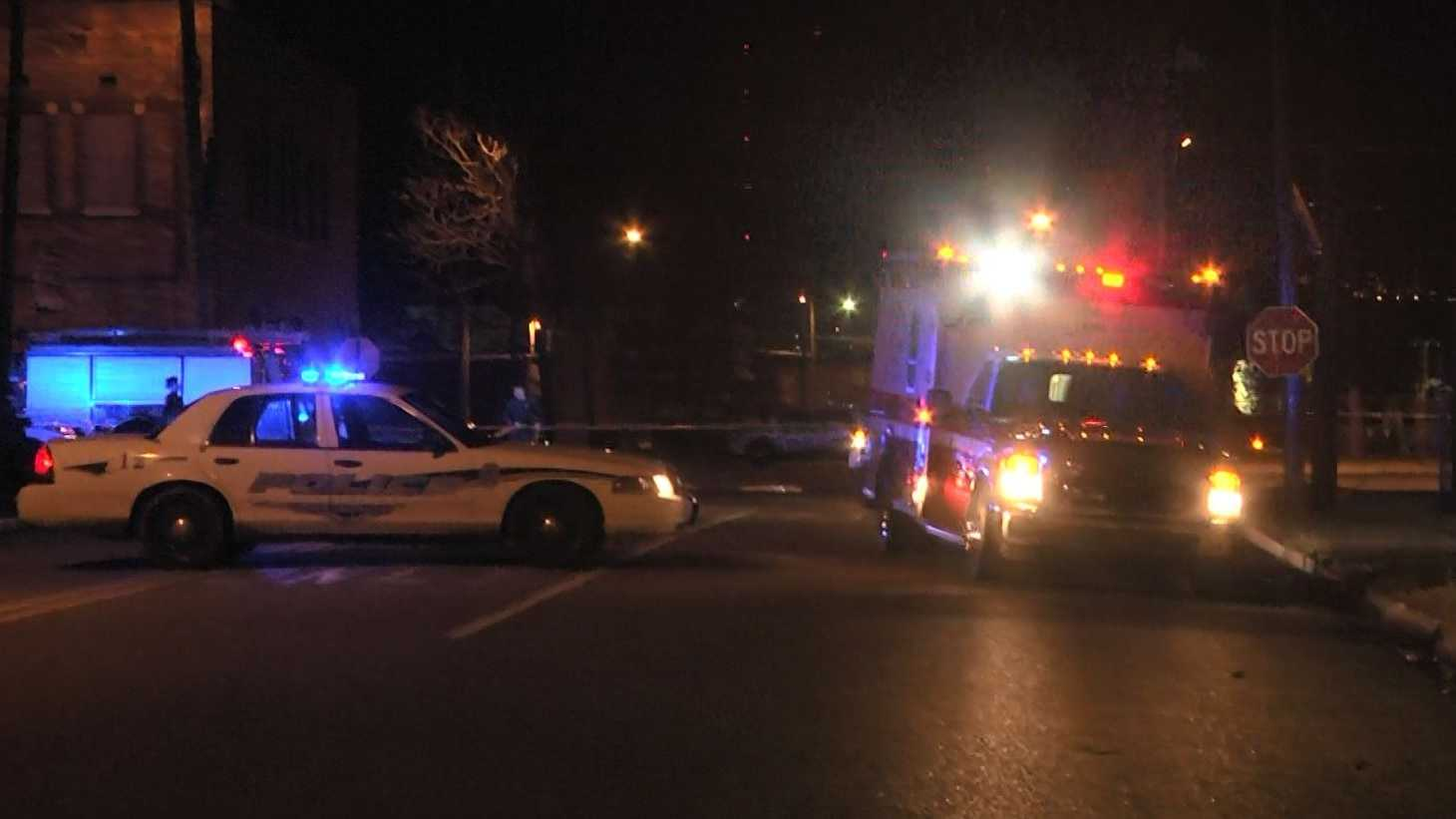 A pedestrian was struck and killed just after 5:30 p.m. Saturday in Birmingham.