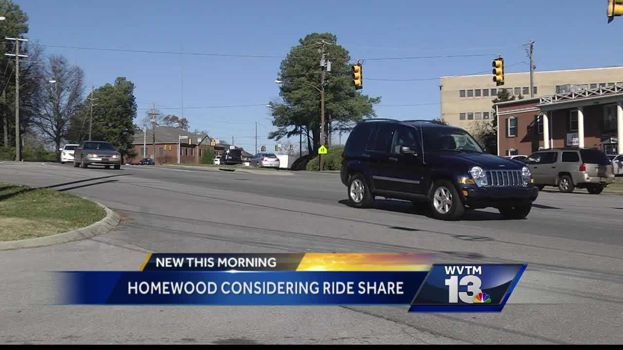 Homewood City leaders looking at adopting ordinance to allow ride sharing companies, like Uber, to operate in the city.