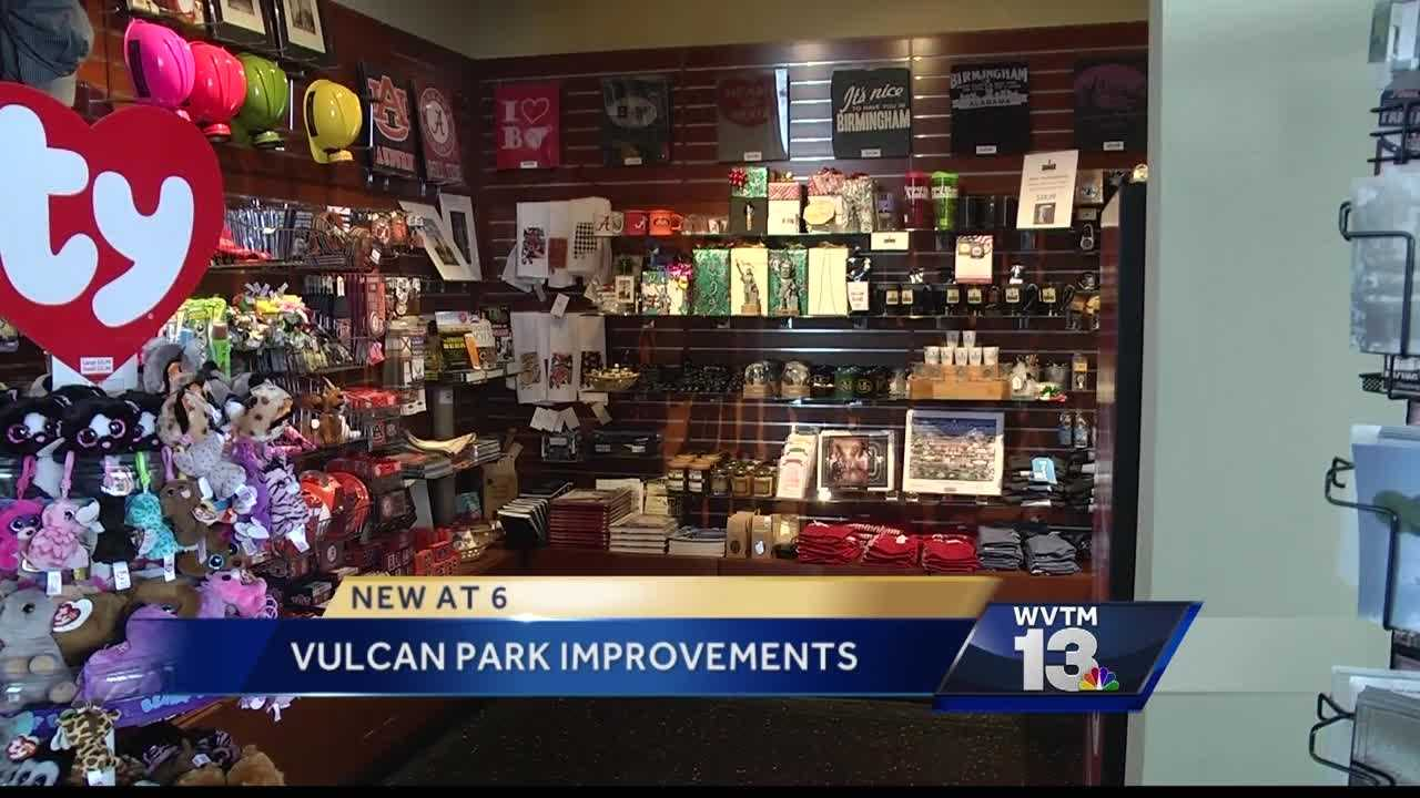 City council set to vote on making improvements to Vulcan Park.
