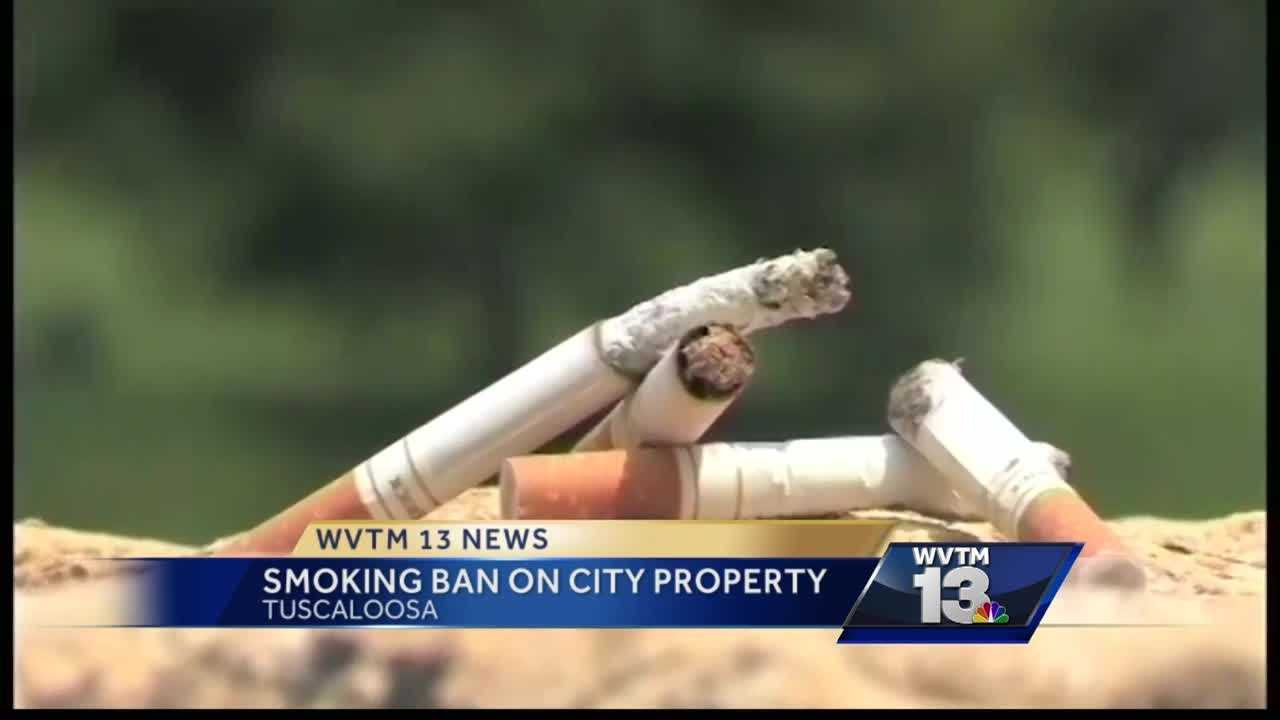 Smoking ban in effect for all Tuscaloosa city property