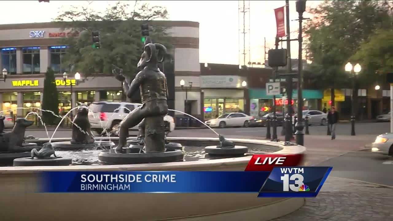 Crime -- and carjackings, in particular -- has residents and those who work on Birmingham's Southside on edge.