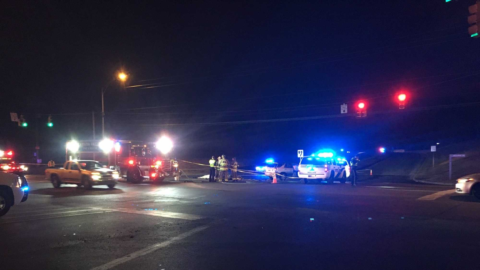 Hoover police and the Shelby County Sheriff's Office are investigating a fatal motorcycle crash Wednesday night. The crash happened just before 6:30 p.m. on Alabama Highway 119 at the intersection of Brook Highland Parkway.