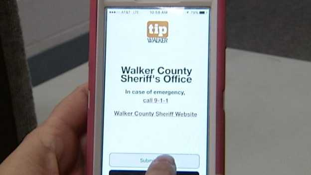 The Community In Action Coalition unveiled the new app, Tip 411, this week aimed to help fight crime. The app allows people to anonymously report tips to the Walker County Sheriff's Office from a mobile device.