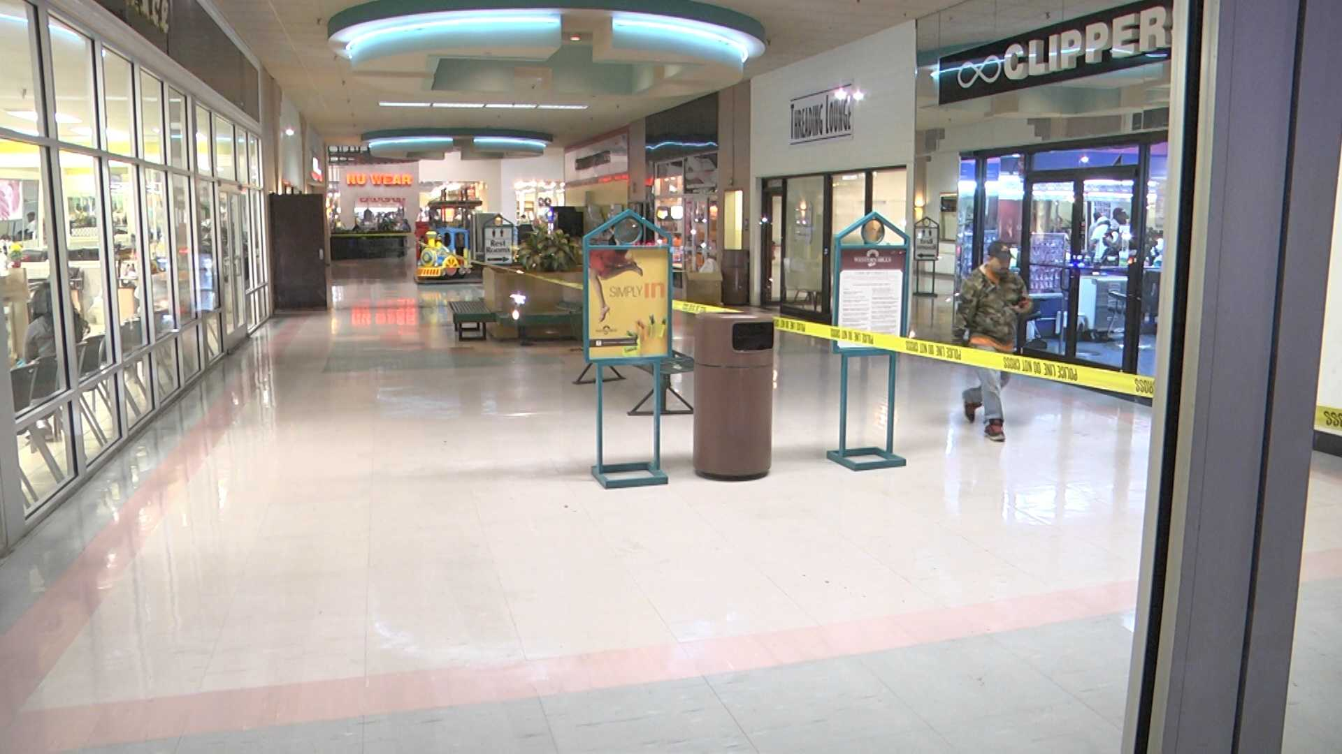 A 5-year-old boy is recovering Saturday after being caught in the crossfire during a shooting at a Fairfield mall Friday evening.