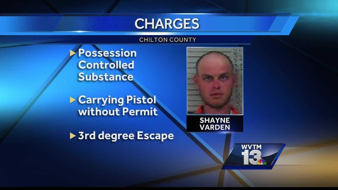 After escaping from a patrol car earlier this month and being re-arrested, Shayne Varden is a free man once more.