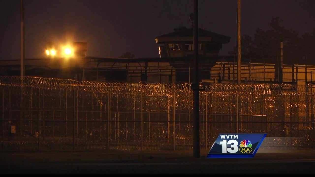 A prison in southern Alabama is on lockdown after violence erupted at the facility late Friday.