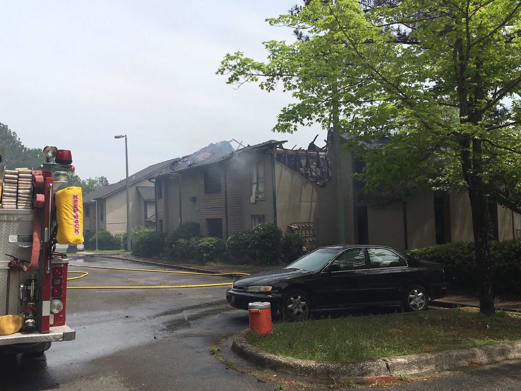 Fire reported at Rime Garden Inn complex