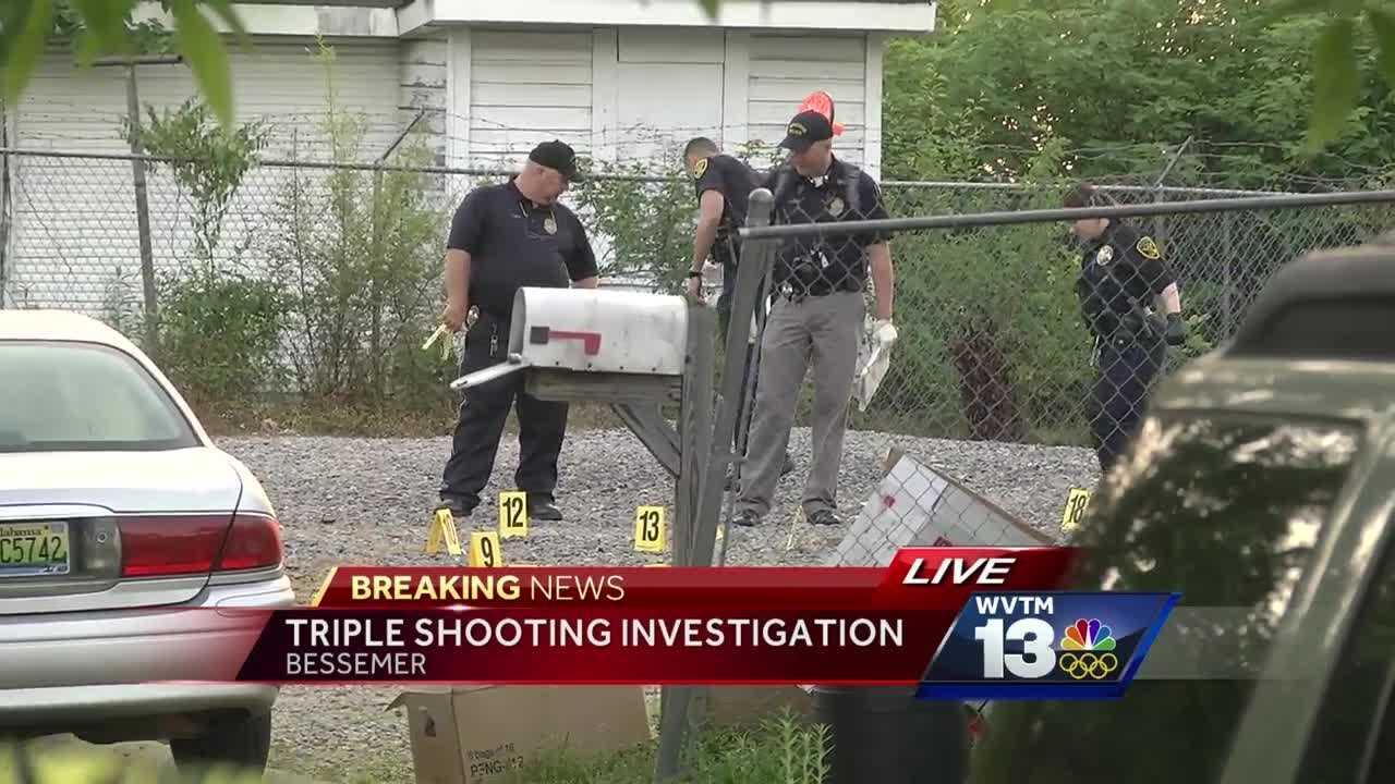 Triple shooting investigation